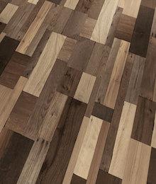 wooden patchwork